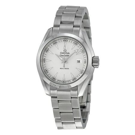 Omega Aqua Terra Silver Dial Ladies Watch 23110306002001