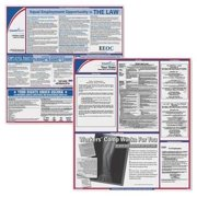 COMPLYRIGHT EFEDSTCRPSECNC Labor Law Poster Kit,NC,English,2-1/2inW G1879136