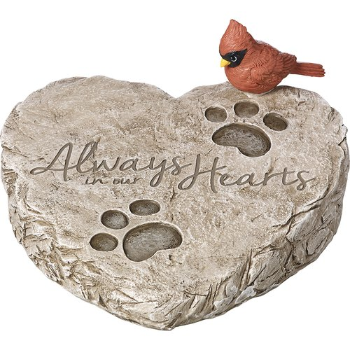 Precious Moments Always In Our Hearts Garden Stone Resin 171460