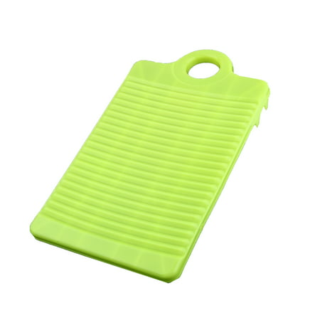 Plastic Rectangle Washboard Clothes Washing Board 315mm Length Light Green - image 4 de 4
