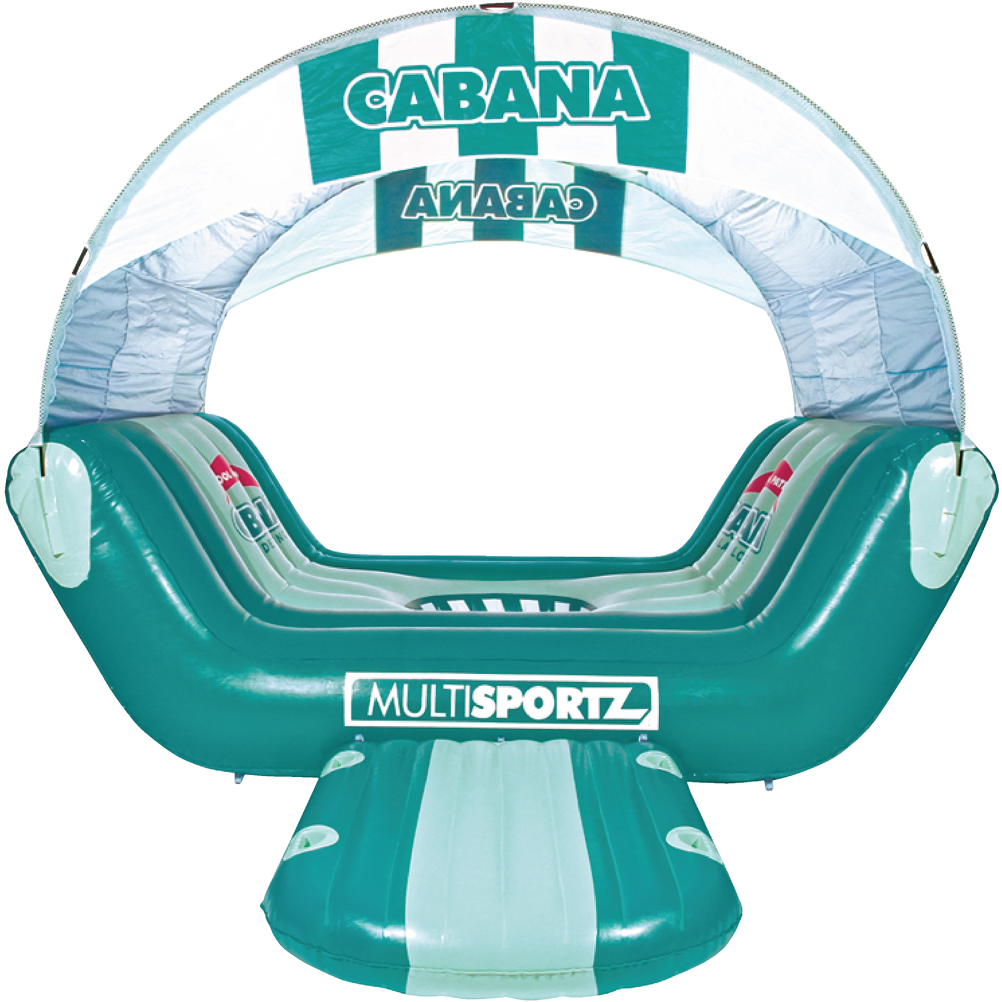 Sportsstuff Cabana Islander Inflatable 6-Person Lounge