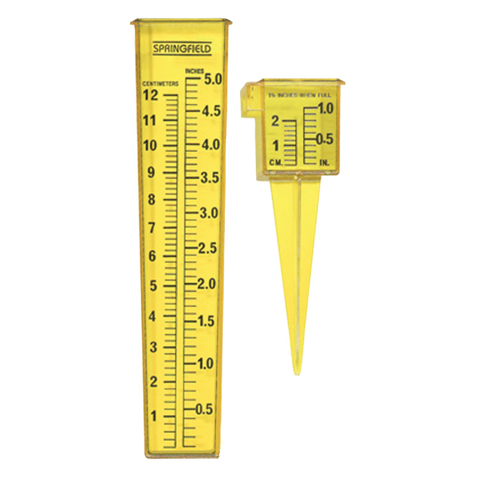 Springfield 2-In-1 Sprinkler Gauge and Rain Gauge