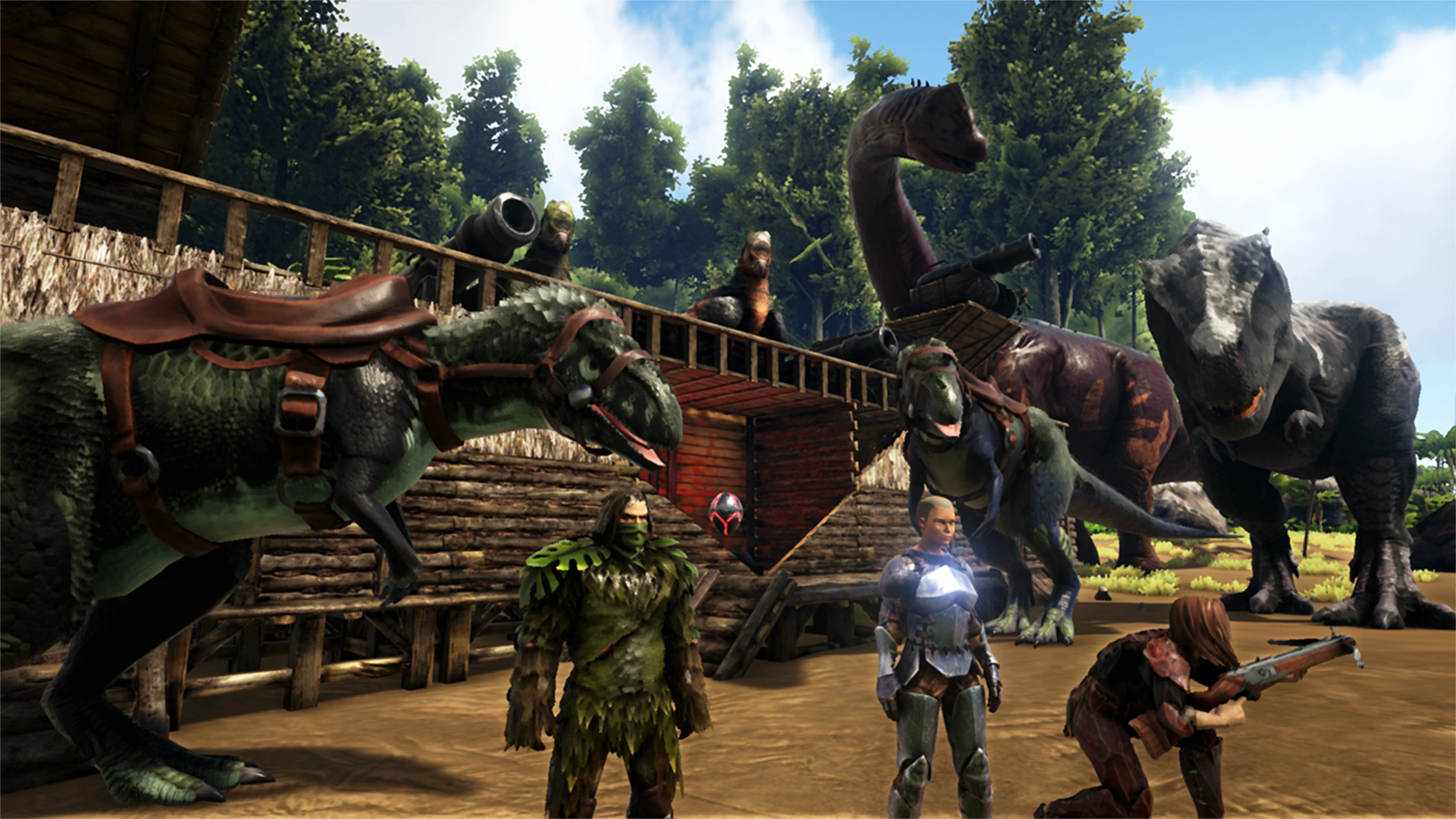 ARK: Survival Evolved, Studio Wildcard, Nintendo Switch
