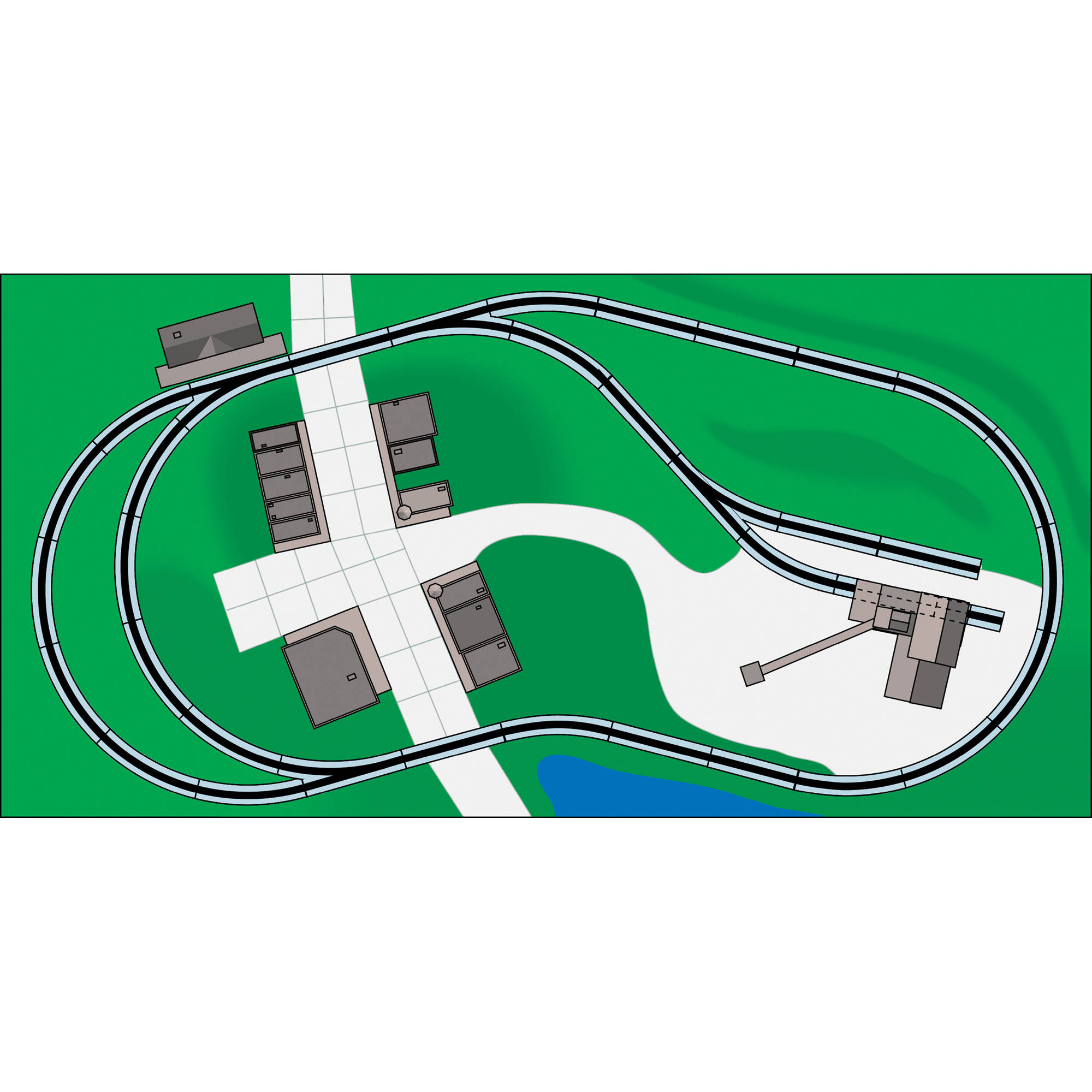 Bachmann Trains Nickel Silver Worlds Greatest Hobby First Railroad Track Switch Wiring Schematic Pack Ho Scale