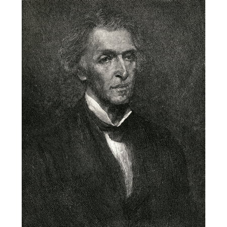- James Martineau 1805-1900 English Philosopher From The Book The Century Illustrated Monthly Magazine May To October 1883 Stretched Canvas - Ken Welsh  Design Pics (13 x 16)
