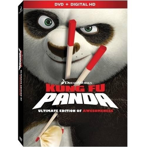 Kung Fu Panda (DVD + Digital Copy) (With INSTAWATCH)