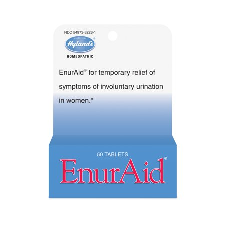 Hylands Enuraid Tablets  Natural Relief Of Involuntary Urination In Adults  50 Count