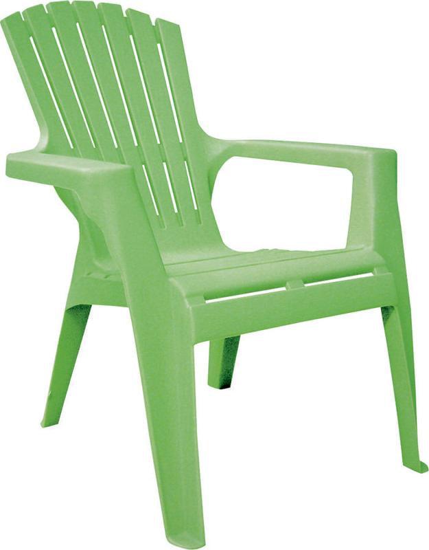 Adams 8460-08-3731 Kids Adirondack Chair, 23-3 4 in H x 18-1 4 in W x 23 in D, 100% Polypropylene, S by ADAMS MFG