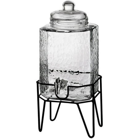 - Hamburg Beverage Dispenser & Stand, 1.5 Gallon