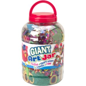 ALEX Toys Craft Giant Art Jar (Easy Halloween Art Crafts)