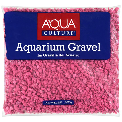 Aqua Culture Hot Pink Aquarium Gravel, 2 lb by Generic