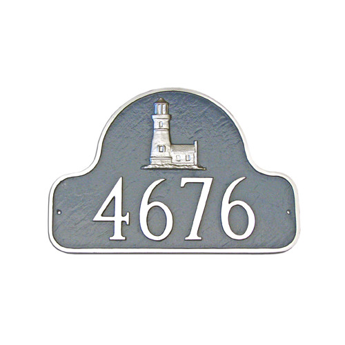 Montague Metal Products Inc. Lighthouse Arch Address Plaque