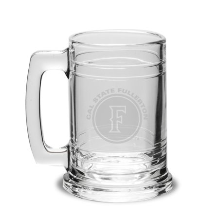 Cal State Fullerton Deep Etched Colonial Deep Etched Beer Tankard Colonel Coffee Mug