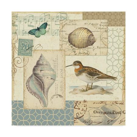 Trademark Fine Art 'Coastal Collage II' Canvas Art by