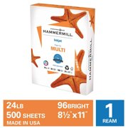 Hammermill Printer Paper, 24lb Premium Inkjet Copy Paper 8.5x11, 1 Ream