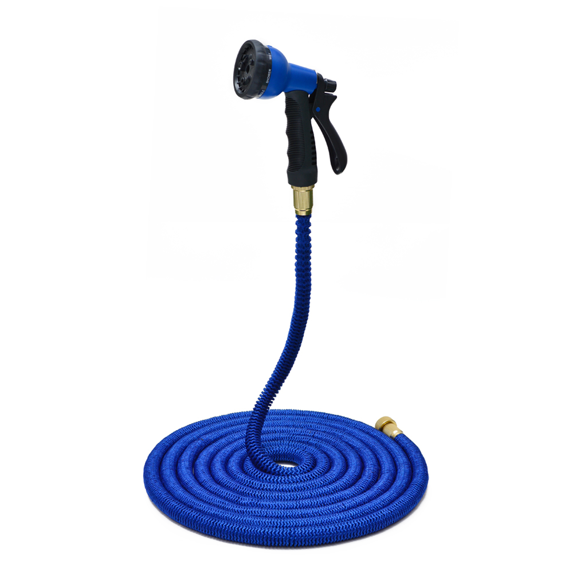 Newest 50 Feet Expanding Heavy Duty Expandable Strongest Garden Hose and 8-pattern Spray... by