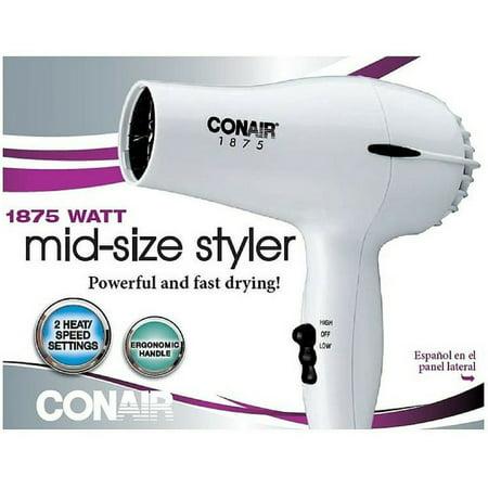 Conair 1875 Watt Mid Size Styler Hair Dryer