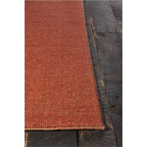 Chandra Rugs Amco Hand-Woven Rust Area Rug by Chandra Rugs