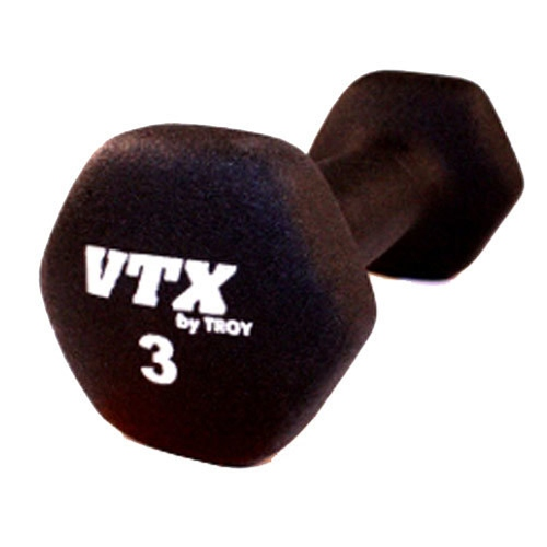 VTX by Troy Barbell 3 lb. Neoprene Dumbbell - Single