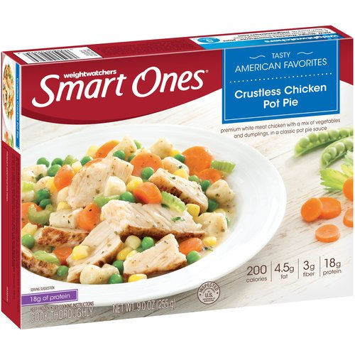 Weight Watchers Smart Ones Tasty American Favorites Crustless Chicken Pot Pie, 9 oz