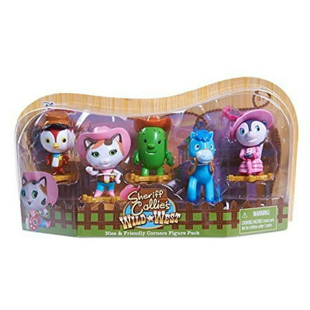 Sheriff Callie Figure Set Pack of 2 - Sheriff Callie Characters
