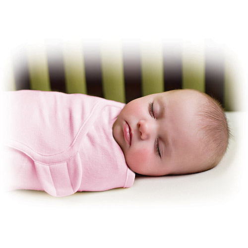 Summer Infant SwaddleMe Cotton Swaddling Blanket, Pink, Large
