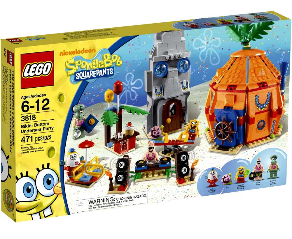 Lego SpongeBob Bikini Bottom Undersea Party by LEGO Systems, Inc.