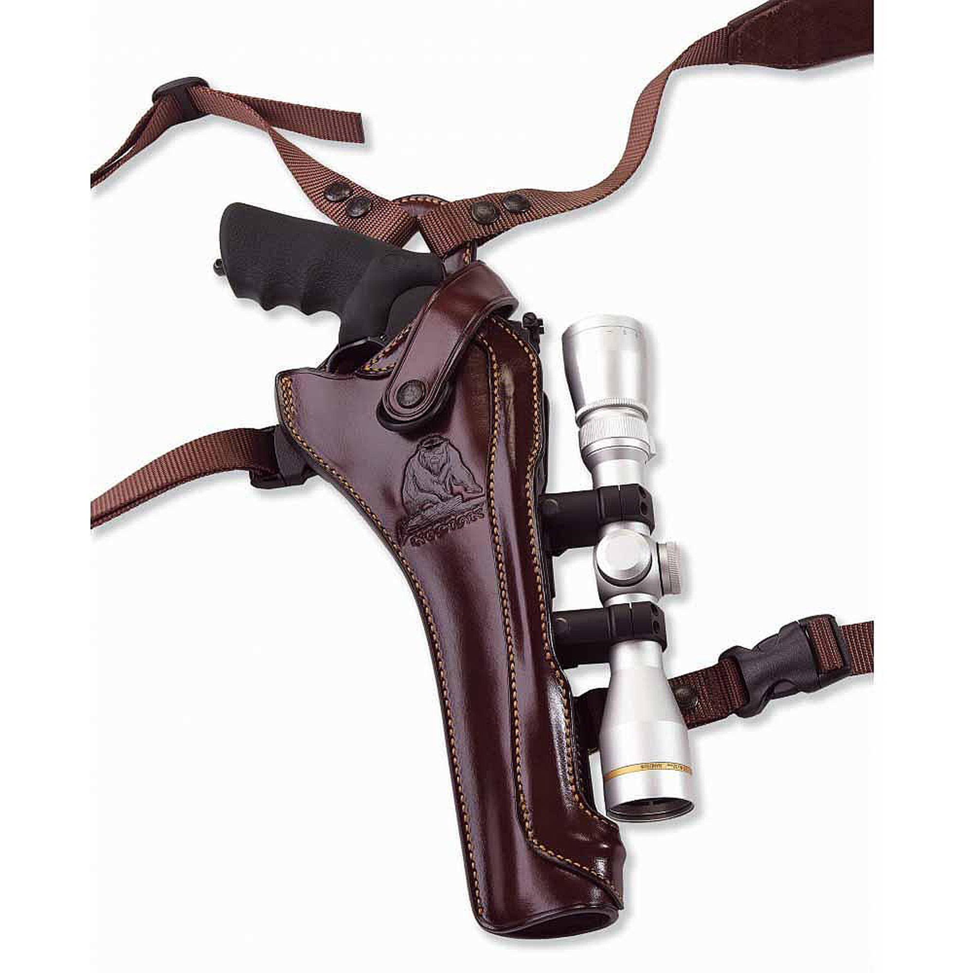 Galco Kodiak Hunter Shoulder Holster (Dark Havana Brown), 8 3 8-Inch S&W N FR .44 Model 29 629, Right Hand KH130H Ga by Galco