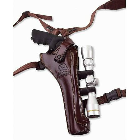 Galco Kodiak Hunter Shoulder Holster (Dark Havana Brown), 8 3/8-Inch S&W N FR .44 Model 29/629, Right Hand - KH130H - Ga (Galco Pancake Holster)