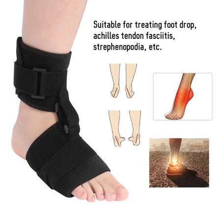 1pc Foot Drop Brace Hilitand Foot Drop Splint Orthotics Fracture Sprain Injury Support Wrap Ankle