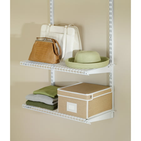 Rubbermaid FG3H9103WHT Configurations Closet Shelf Kit -