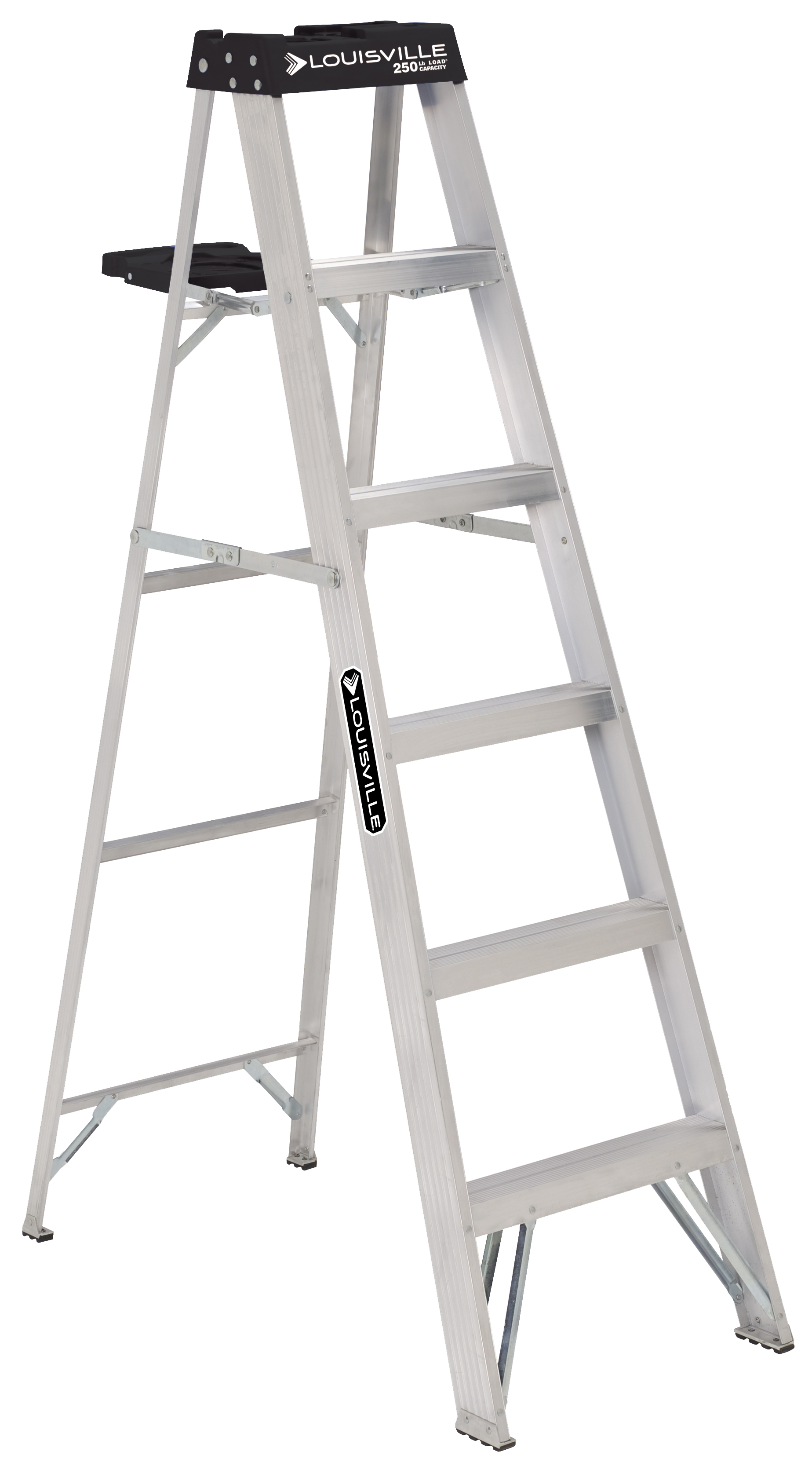 Louisville Ladder 6 Ft Aluminum Stepladder 250 Pound