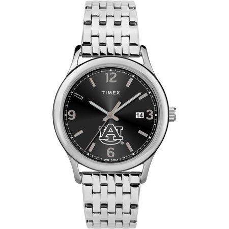 Women's Auburn University Tigers Watch Timex Sage Stainless Watch Timex Watches Accessories