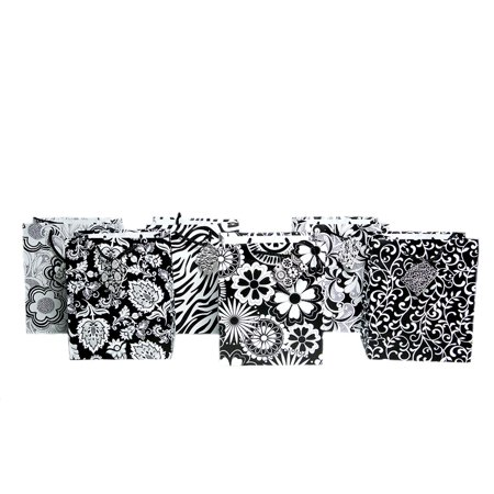 Black And White Gift Bags (Medium Black and White Designs Gift)