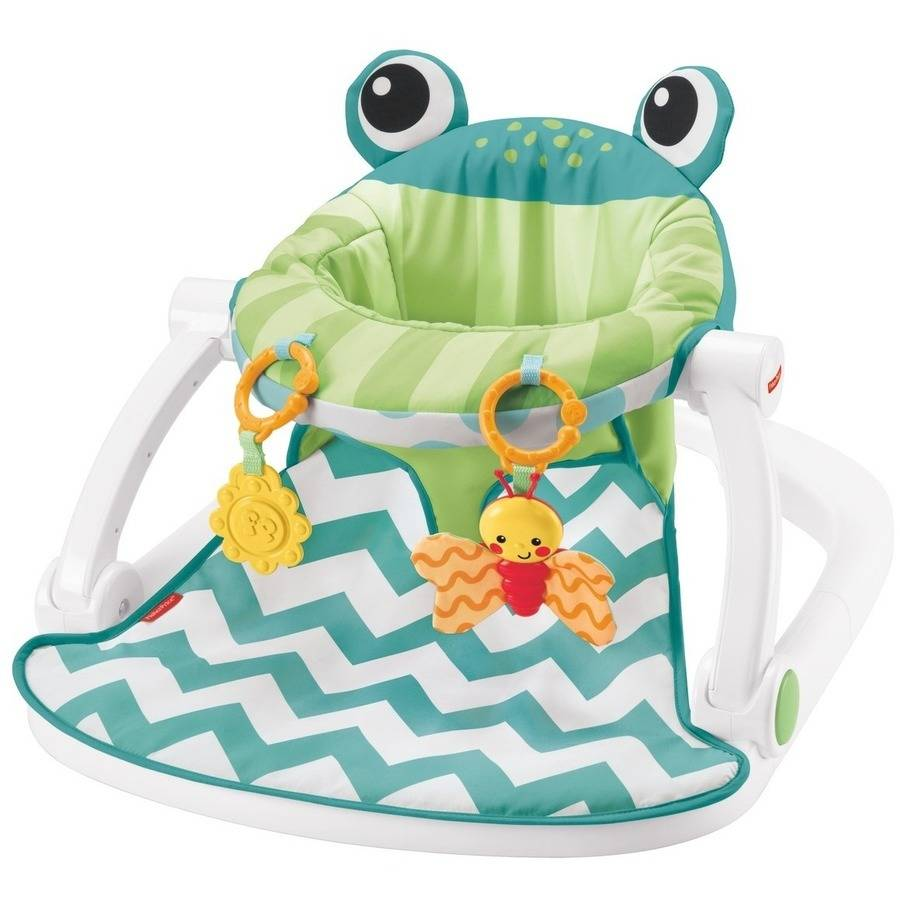 Fisher-Price Sit Me Up Seat - Citrus Frog