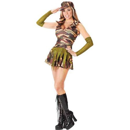 Army Costumes For Teens (Teen Army Brat Costume)