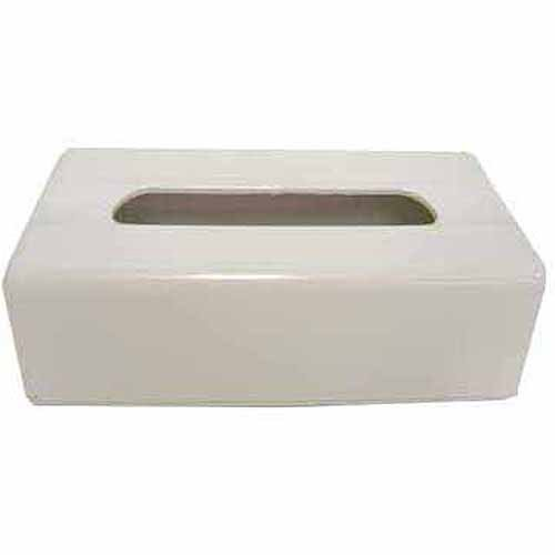 Interdesign Facial Tissue Box Cover Holder For Bathroom Vanity Countertops White