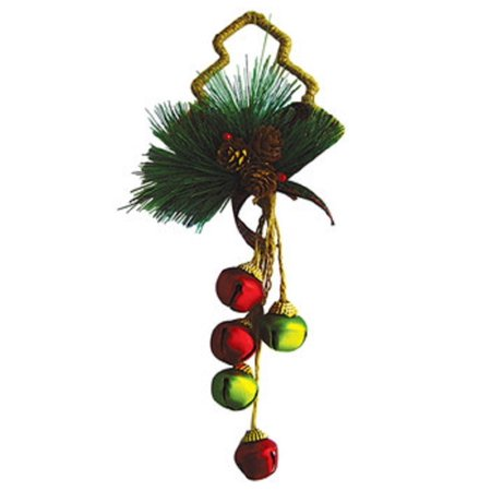 Twine Tree 12 Inch Christmas Bell Door Hanger Decoration Holiday Décor New