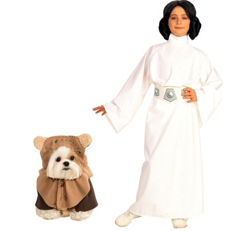 Star Wars Princess Leia Child Ewok Pet Bundle Set