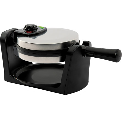 West Bend Rotary Waffle Maker, Stainless Steel