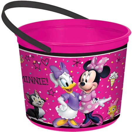 Minnie Mouse Helpers Favor Container](Minnie Mouse Party Decoration)