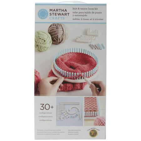 Martha Stewart Knit & Weave Loom Kit