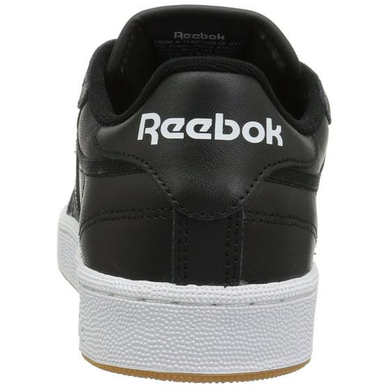 Reebok - Reebok AR0458  Club C 85 Mens Black White Gum Sneaker (13 D(M) US  Men) - Walmart.com 631883d57