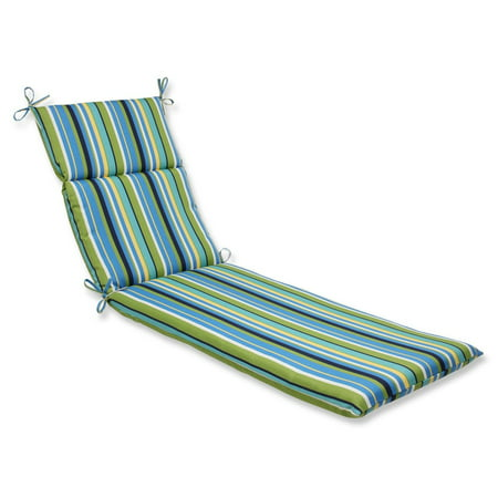 72 5 strisce luminose blue green and yellow striped for Blue chaise lounge cushions