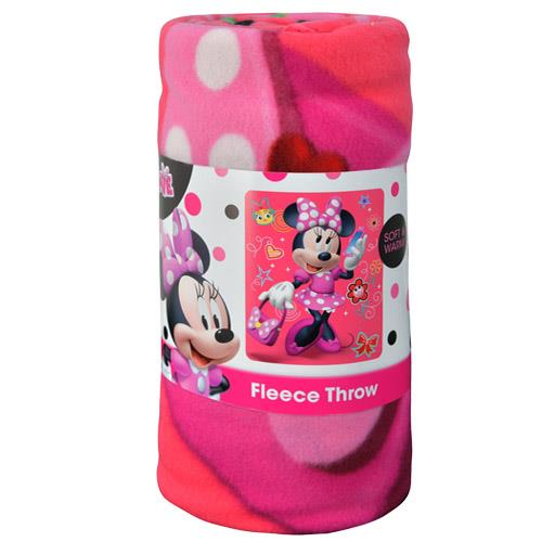 "Minnie Mouse ""Unstoppable"" 45x60 Fleece Throw"