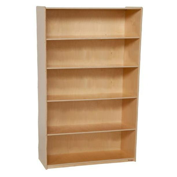 """Wood Designs 13260 X-Deep Bookshelf- 59-1/2"""" Height x 18"""" Deep (Pack of 4)"""