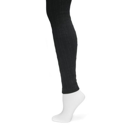 f721f390d1fba MUK LUKS - Women's Cable Knit Leggings - Walmart.com