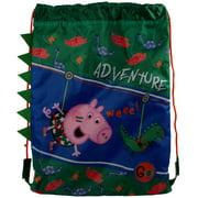 Peppa Pig Boys/Girls Adventure Trainer Drawstring Bag