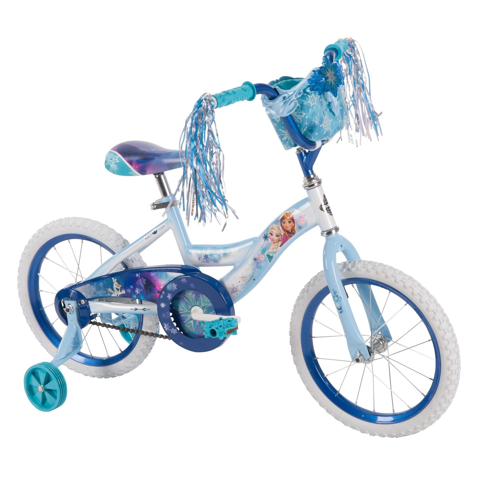 Huffy 16 in. Disney Frozen Bike with Handlebar Bag