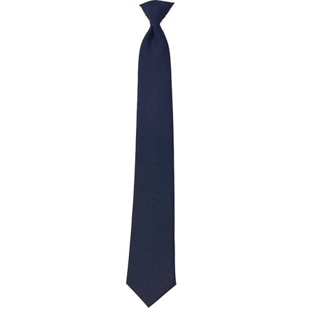 Navy Blue - Official Police Security Clip-On Necktie